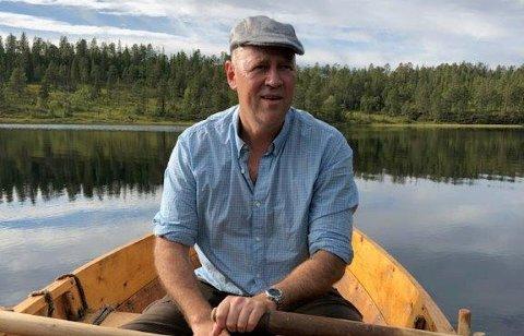 FJELLOPPSYN: Da Robert Svarva (52) var yngre, hadde han en opprinnelig plan om en jobb innen fjelloppsyn.