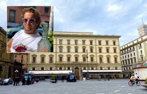 Ivar Hauge Line bor i Firenze på åttende året, og har de siste ti ukene levd stort sett isolert. Italienerne åpnet gradvis opp samfunnet for en uke siden.
