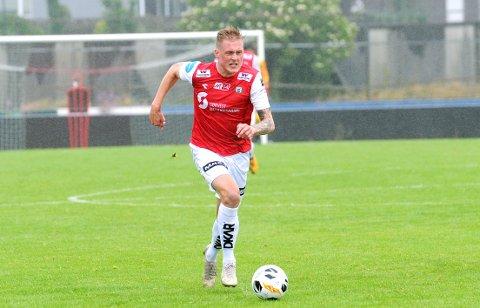STARTER: Vegard Aasen erstatter en skadet Bjarne Langeland mot Fram lørdag ettermiddag.