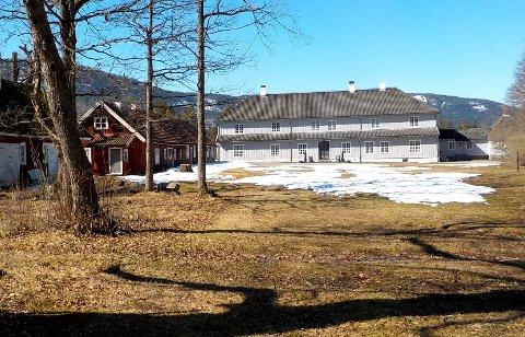VÅRPRAKT: Eidsfos Hovedgård er et besøksmål for mange vestfoldinger, særlig i den tida av året vi går inn i nå.