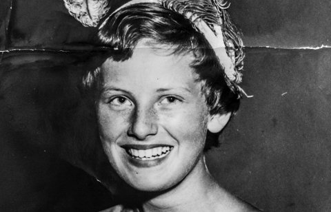 Kragerødagene Turid Østrem (Grønli) ble Prinsesse i 1955