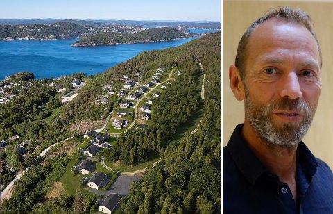 OMREGULERING: Ivar Tollefsen kjøpte Kragerøfjorden hyttegrend gjennom Fredensborg Fritid i februar. Nå vil han få til en bedre arealutnyttelse av feltet.