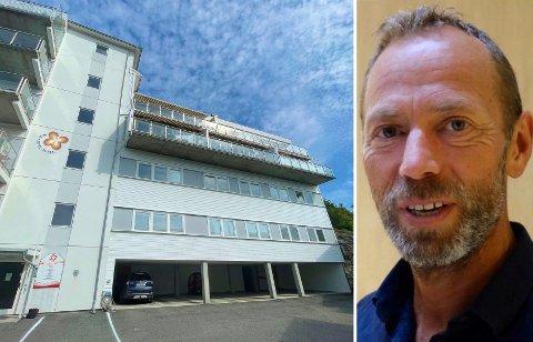 LEIER UT: Ivar Tollefsen har fått en fot innenfor Løkkebakken 12. Nå leier han ut lokalene i den andre etasjen over parkeringen til Legene i Løkkebakken.