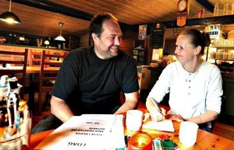 GIR SEG: Lasse Skuland og Grace Hammer har drevet stedet, men snart overtar nye eiere.