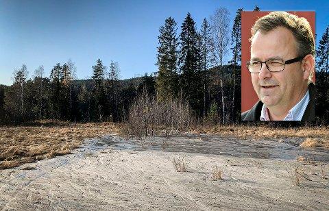 ALVORLIG: Per Mikkelsen i PK Eiendom ser alvorlig sak saken.