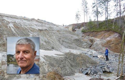 Øyvind Stranna Larsen i Naturvernforbundet mener mye har blitt ødelagt, og at man nå må gjøre alt man kan for å minimalisere miljøpåvirkningen.