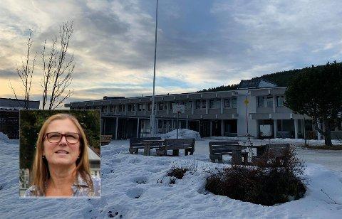 Hanne Hagby, rektor ved Kongsberg videregående, sier at elever og lærere har reagert litt ulikt på trusselen som ble sendt inn på skolens Facebook-side.