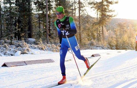 VANT SIN KLASSE: Andreas Kirkeng fra Gullaug vant 17-årsklassen.