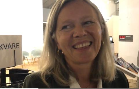 Anne Sand (Sp) er fornøyd med valgresultatet.