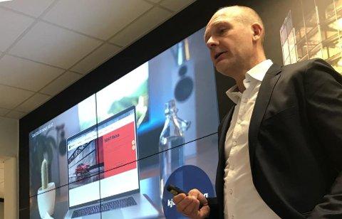 Ulf Tore Hekneby er administererende direktør i Harald A. Møller AS.