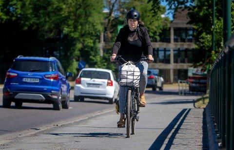 Sykkel: Bra for helsa og bra for miljøet.