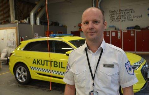 – Håpet er at vårt eksempel skal friste andre til å følge etter. Interessen er stor blant ambulansefolk over hele landet, sier Tommy Abrahamsen til Broom.