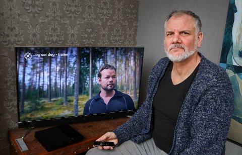 DOKUMENTAR: Anders Graham fra Moss har laget filmen «Jeg ser deg». Den handler om klarsynte Michael Winger som var delaktig i funnet av den savnede Håkon Andersen fra Rygge i 2013.