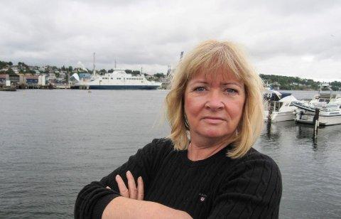 GODT FORBEREDT: Sissel Rundblad (H) fikk gjennomslag for en rekke forslag da Moss formannskap skulle lage høringsuttalelse til regional transportplan for Østfold mot 2050.