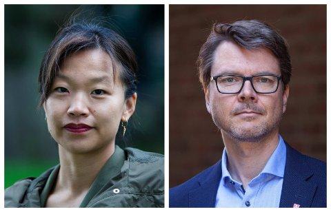 RISIKOVURDERING: Slik vurderer kommuneoverlege Ingrid Christensen og Kristian Krogshus smittesituasjonen i Moss nå, ifølge denne ukens risikovurdering.