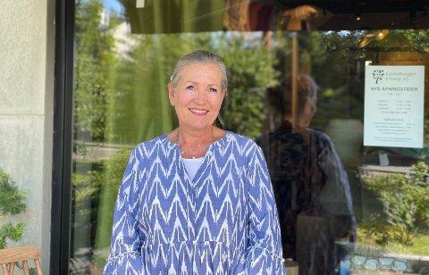 Marit Saugstad Wallin åpnet ny interiørbutikk på Kastellet i fjor.