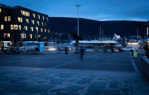KRANIEBRUDD: Fornærmede fikk kraniebrudd og blødninger i hodet etter voldepisoden i Tromsø sentrum.