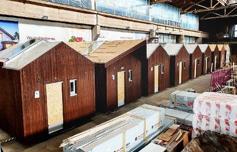 Snart kommer disse nordover og skal settes opp i Tromsø. Foto: Tromsø Lodge & Camping