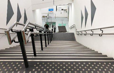 Snart blir denne trappa historie. Foto: Malin Olovsson.