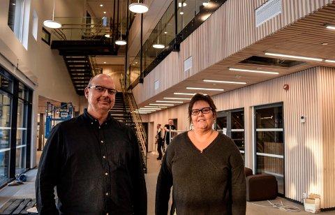 STORSTUE:  - Labo blir ei storstue for helse- og omsorgstjenesten i Østre Toten, som det er grunn til å glede seg over, sier Bent Olav Engesveen og Lisbet Kjøniksen i kommunen.