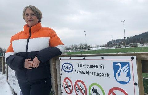 STYRELEDER: Marit Stensby i Vardal IF vil ikke slippe taket i det hun beskriver som forskjellsbehandling og kameraderi i Gjøvik-idretten og Gjøvik kommune.