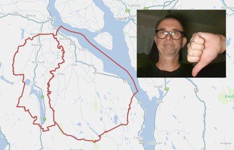 RAMMET: Mange totninger, deriblant Finn Kristiansen, er lei strømbrudd.