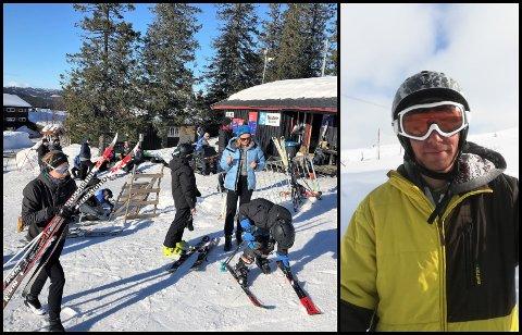 GUTTEDRØM: Martijn Strijbos flyttet til Synnfjellet for fem år siden for å følge drømmen om å drive skianlegg. Nå vil han trolig trekke seg ut.