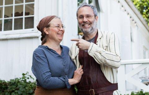 LIVSSTIL: – Vi driver for at det skal være gøy, sier Bendik Romstad, som driver Anne på landet med kona Anne Gravingen.