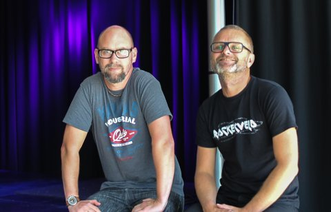 Gleder seg: Arrangørene Anders Buaas (t.v.) og Atle Rasmussen gleder seg stort til en ny festivalhelg.