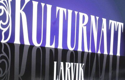 Kulturnatt: Den andre lørdagen i november hvert år eksploderer Larvik i opplevelser.
