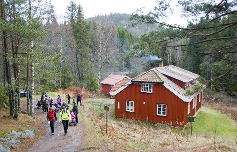 TURMÅL: Eikedalshytta og Lauvesetra er blant larviksdistriktets mest besøkte turmål.