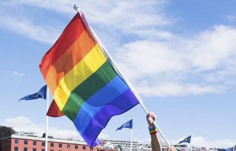Respekt: Jeg hilser flagget av flere grunner og håper de blir færre med årene.