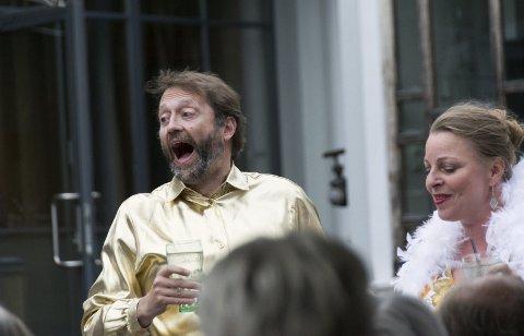 Humor: Trond Bjerkholt og Kjersti Kongssund byr også på mye komikk underveis.