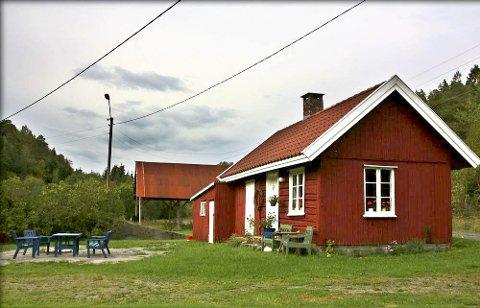 Fra ono: Fantestien har sitt sørlige utgangsspunkt ved Øvre Ono i Vestmarka.
