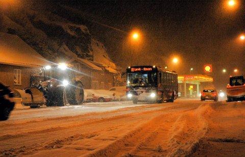 Tunnelsyn: Kanskje ikke så rart vi ikke er så impulsive og sosiale i Norge på vinterstid?arkivfoto