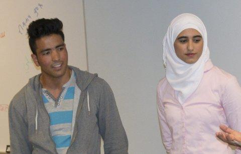 HELTER: Qurban Ali Rezaqi og Daiana Jalabi er helter som gjennomfører på tross av utfordringer, som så mange andre.
