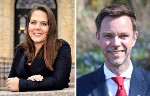 VALGDEBATT: Tirsdag 30. august arrangerer ØP valgdebatt på Sanden med Lene Westgaard-Halle (H) og Truls Vasvik (Ap).