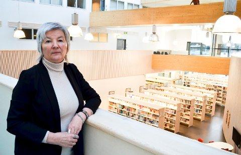 BEKLAGER: Dekan Ingrid Guldvik beklager at Høgskolen i Innlandet i Elverum sendte vitnemål sendt til feil personer.