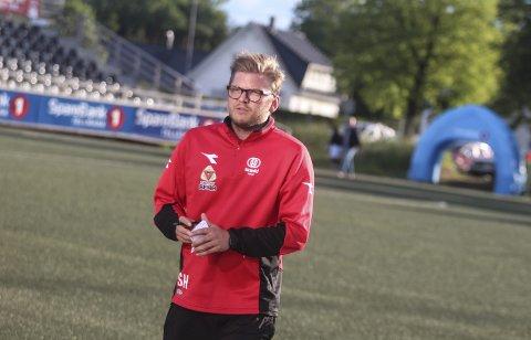 Må ha poeng: Urædd har kun 13 poeng etter 15 spilte kamper. Trener Stig Haddal og laget hans må jobbe hardt for å sikre plassen i 3. divisjon. foto: Arkiv