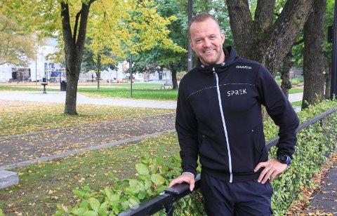 168,8 KILOMETER: – Eller fire maraton. Det er målet jeg har satt meg, smiler Sprek Fritid-sjef Espen Ødegaarden.