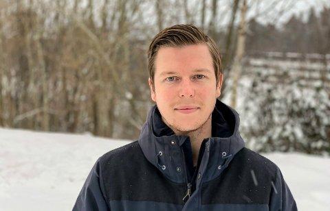 HAR GÅTT FORT: Victor Vindfjell er nesten overrasket over at det allerede er ett år siden landet ble stengt ned. Han var på jobb i barnehagen da meldinga kom 12. mars i fjor.