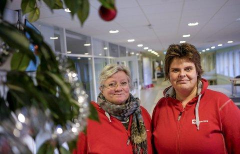 Hyggelig førjulsmarkering: Torhild Hanne Fossli og Nina Ødegård inviterer til en hyggelig førjulslunsj med muligheter for å treffe gamle venner, eller bli kjent med en nye før jul.