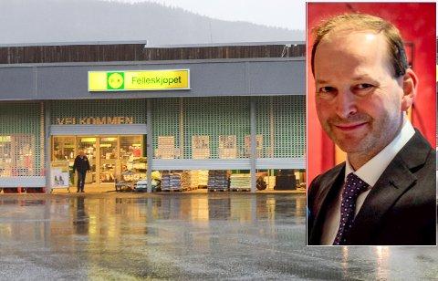 Stig Jensen blir ny butikksjef på Felleskjøpet i Mosjøen.
