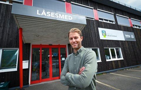 Alexander Ræstad var en ung daglig leder da han tok over i familiebedriften i 2010. Da han begynte i 2007 var de sju ansatte, nå er de 17.