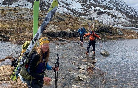 Kristin Johansen elsker friluftsliv, fjell, padling og skigåing.