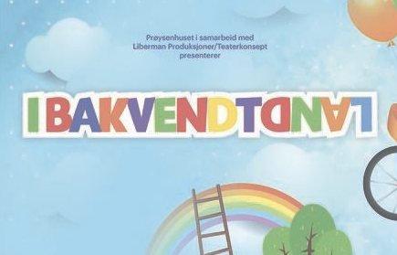 I bakvendtland: Familieteateret framføres i Mikkelikskiskogen onsdag klokka 13.