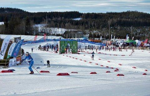 Flott anlegg: Nybygda skistadion hvor Hovedlandsrennet ble arrangert i vinter. Nå ønsker idrettslaget å utvikle stadion videre.