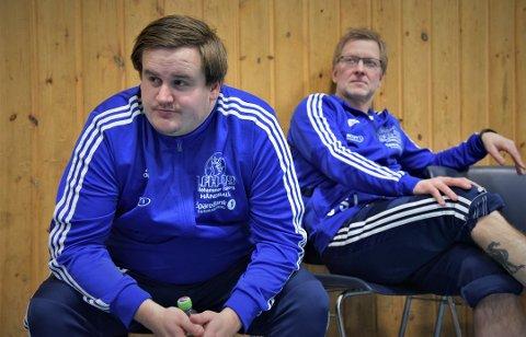 Tapte: Hovedtrener Thomas Jonsdal og assistenttrener Jon Sigurd Leine opplevde nytt tap.