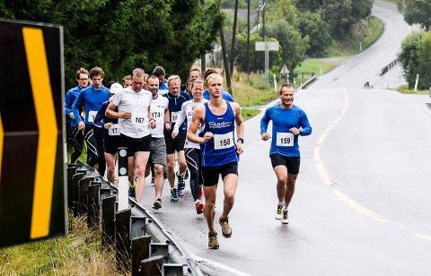 MÅ AVLYSE: Mosjøløpet var planlagt gjennomført lørdag. Nå velger arrangøren å avlyse. I gjennomsnitt har 30-35 løpere deltatt de siste årene.