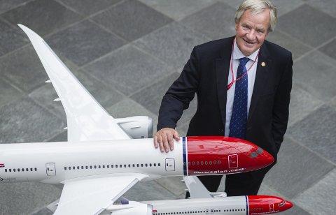 Bjørn Kjos kan få nytt bud på Norwegian.